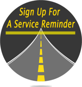 Sign up for service reminder